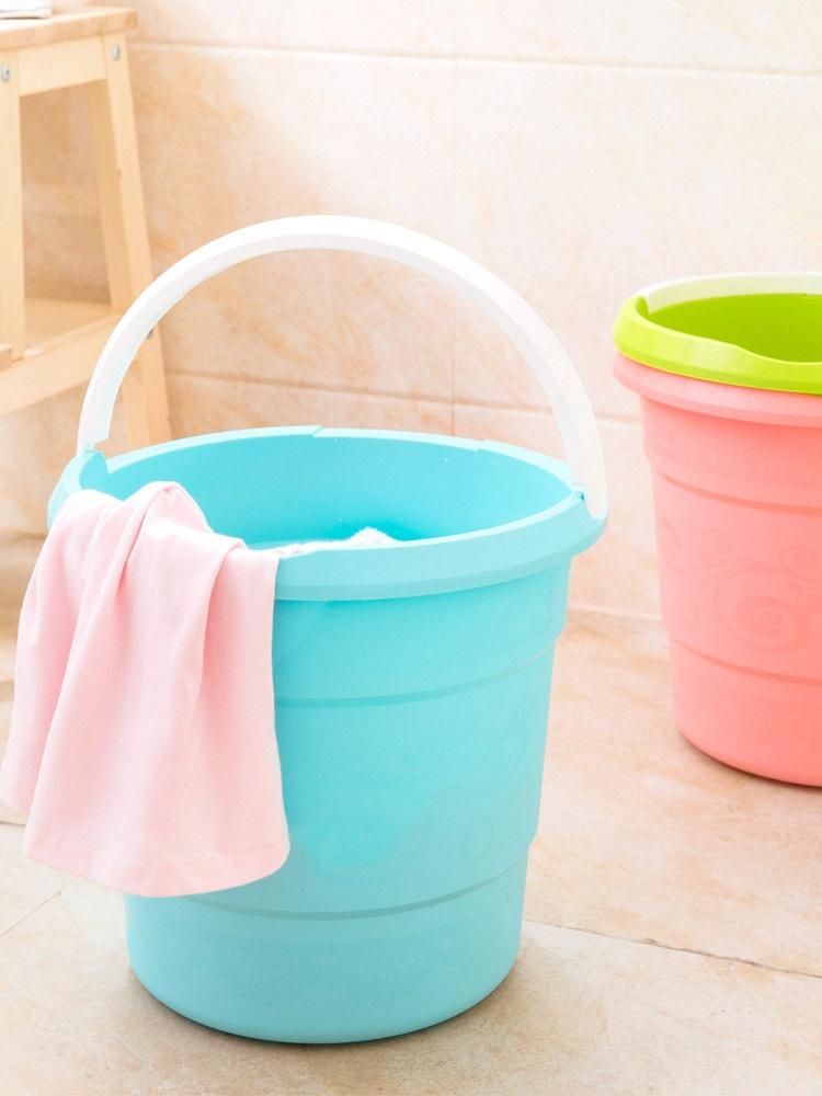 家用加厚耐摔水桶拖把桶3