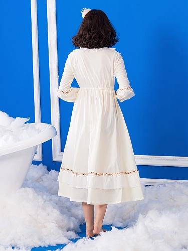 宫廷欧式复古-睡裙 - 聚美优品