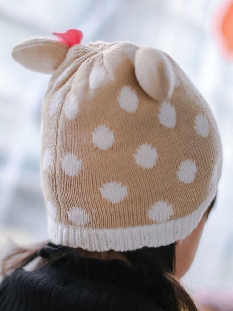 小鹿帽子的织法
