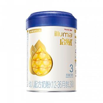 惠氏启赋幼儿配方奶粉900g(3段)