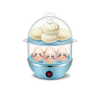 亿珊 双层煮蛋器 送不锈钢碗