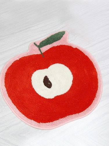 53*56cm卡通地垫--青苹果