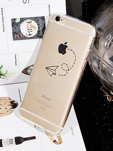 iphone5/5s/6/plus超薄纸飞机