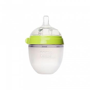韩国•comotomo可么多么硅胶奶瓶150ml绿色