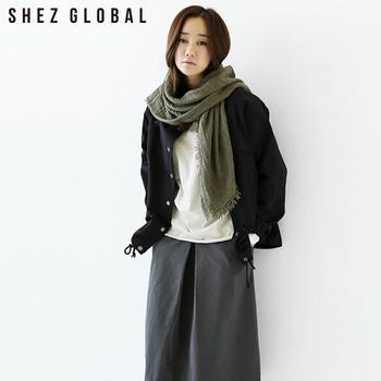 韩版SZ宽松休闲气质夹克外套