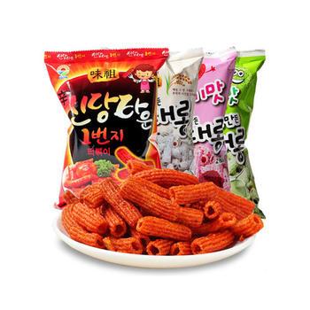 韩国进口九日炒年糕条100g*3袋