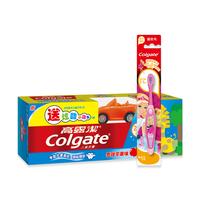 高露洁(Colgate)儿童牙膏苹果味(2-5岁)40g送赠品+芭比儿童牙刷(2-5)岁