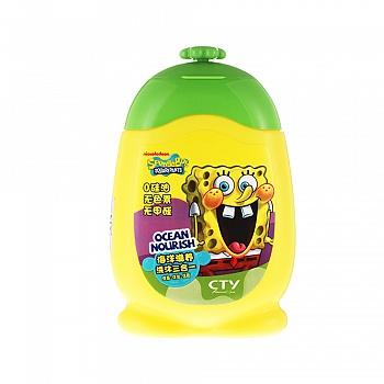 美国•海绵宝宝 (SpongeBob)海洋滋养洗沐三合一 210g