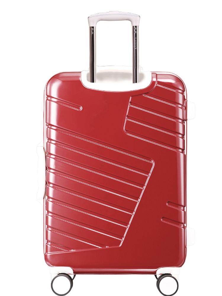 飞机轮轻便铝框行李箱