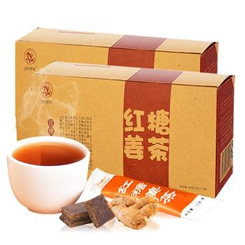 四月茶儂 紙盒紅糖姜茶姜湯180g×2