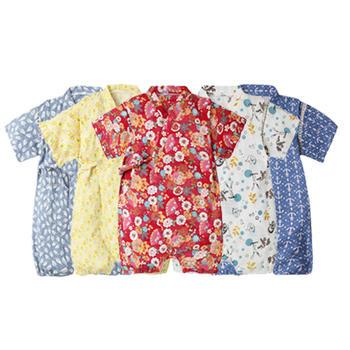 Augelute夏季和服式婴幼儿爬服