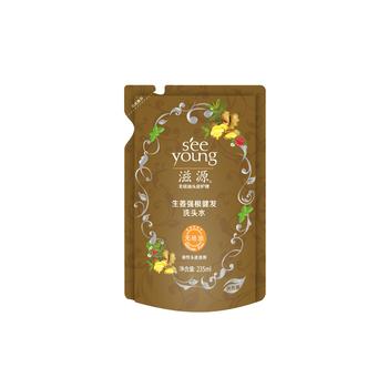 中国•滋源生姜强根健发洗头水235ml(油性/补充装)