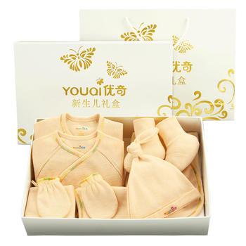 中国•优奇纯棉彩织棉8件套四季礼盒