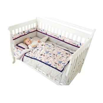 龙之涵婴儿床品套件棉花被航海家