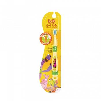 韩国?保宁(B&B)婴幼儿牙刷(第 一阶段)颜色随机