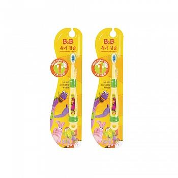 韩国•保宁(B&B)婴幼儿牙刷(第一阶段)*2