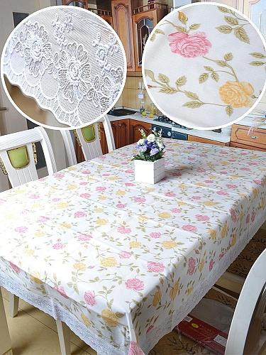 欧式防水防烫高档桌布