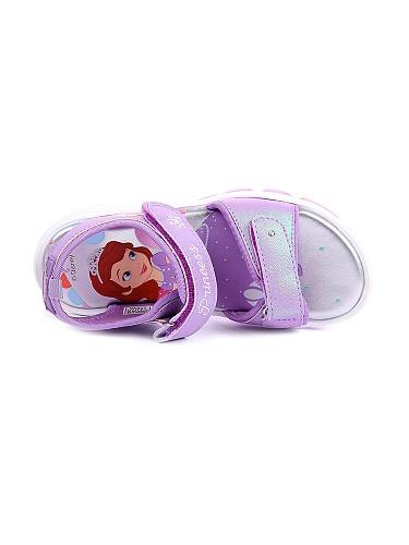 迪士尼苏菲亚公主图案防滑凉鞋