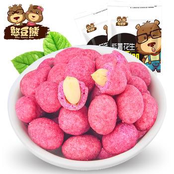 【憨豆熊】 紫薯花生218g
