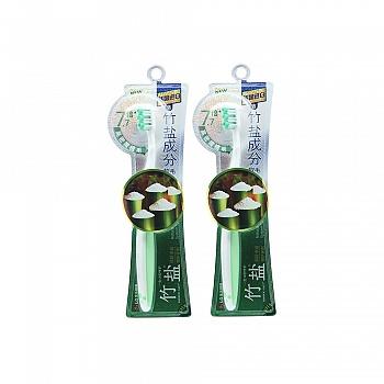 韩国•LG竹盐 精研卓效密护 牙刷(含竹盐成分软毛)*2