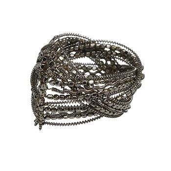 中国•银色金属餐巾扣