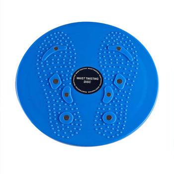 中国•蓝色旋转扭腰盘带磁石完美瘦腰