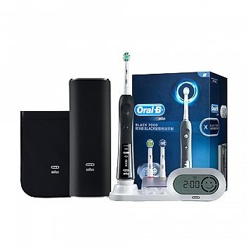 德国•欧乐B 7000 3D智能电动牙刷 极客黑尊享版