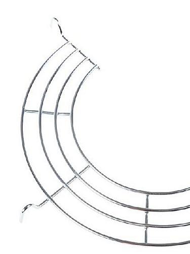 半圆形不锈钢沥油架蒸架2个