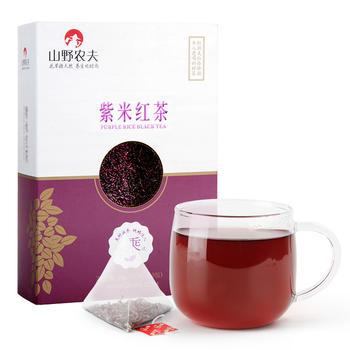 山野农夫 紫米红茶 盒装 98g