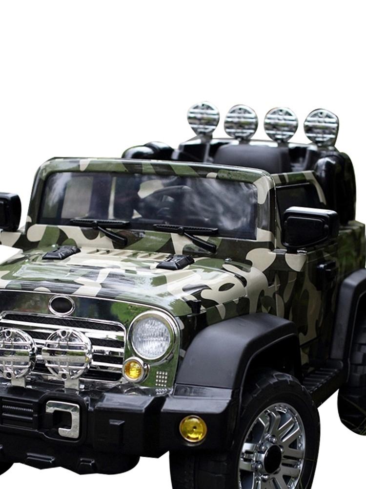 贝瑞佳电动童车带遥控越野车
