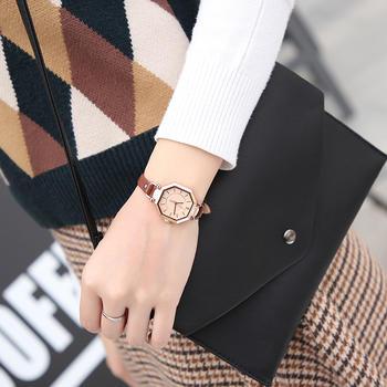 聚利时菱形皮带手表复古女士手表