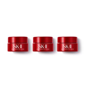 日本•SK-II 微肌因/肌源修护焕采眼霜 2.5克*3