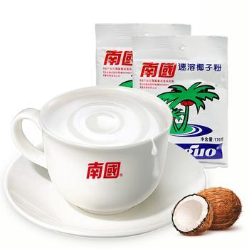 南国速溶椰子粉170gX2袋早餐代餐粉