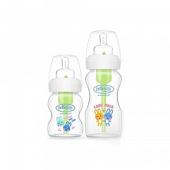 美国?布朗博士爱宝选玻璃宽口套装婴儿奶瓶(晶彩版)