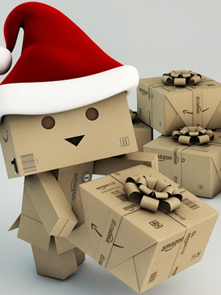 纸箱充电宝纸盒行动10000m毫安移动电源呆萌小人通用