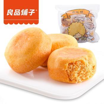 良品铺子  肉松饼380g*3 袋装