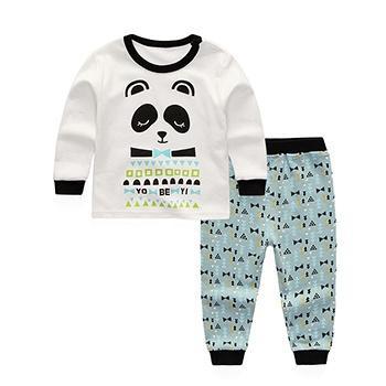 优贝宜儿童纯棉套装 熊猫先生
