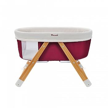 pouch多功能便携折叠婴儿床H26红色