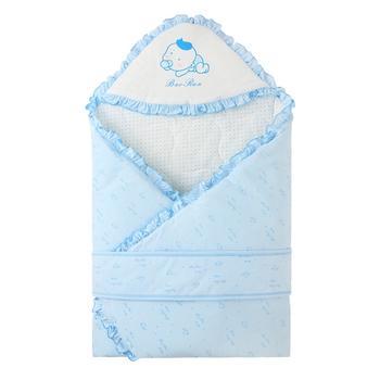 宝然新生儿抱被秋冬加厚抱巾