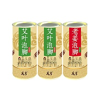中国•足季足泡泡腾颗粒套装(足季艾叶足泡泡腾颗粒250g*2桶+老姜足泡泡腾颗粒250g)