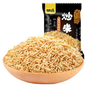 甘源牌 酱汁牛肉味炒米 休闲炒货零食 285g