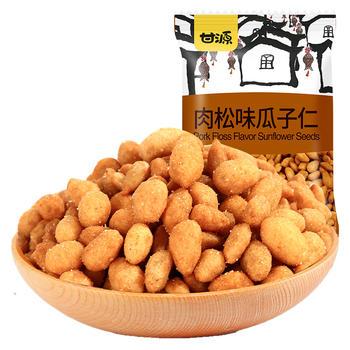 甘源牌 肉松味瓜子仁休闲炒货零食 285g