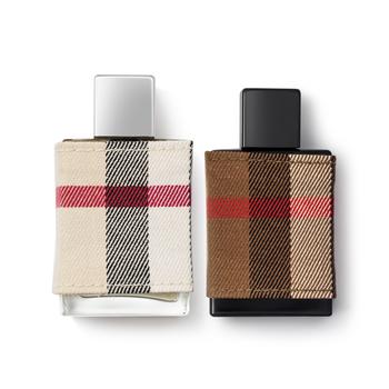 英国•博柏利(Burberry)情侣香水两件套(伦敦男30ml+伦敦女30ml)
