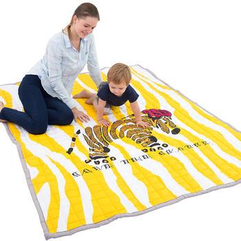 歐培棉布兒童加厚爬行墊毯環保