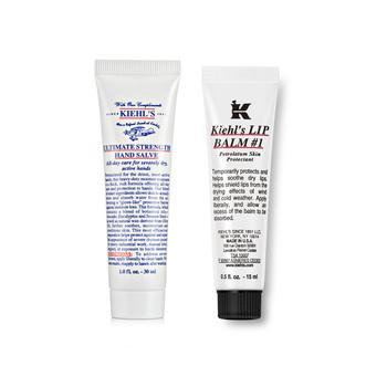 美国•科颜氏 (Kiehl's)秋冬护理两件套(唇膏15ml+手霜30ml)