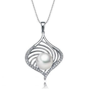 今上珠宝  S925银淡水珍珠吊坠