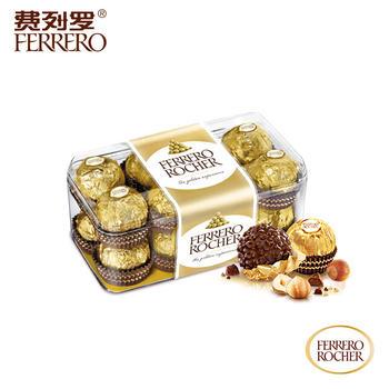 费列罗榛果威化巧克力16粒礼盒200g