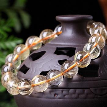 中国•华贵 金发晶单圈手链