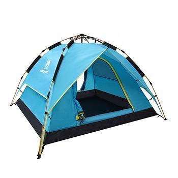 骆驼户外帐篷全自动液压防雨露营