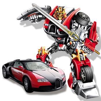 奥智嘉1:16布加迪遥控车机器人